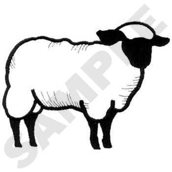 Sheep Outline Sheep outline